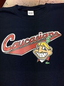 Caucasian Shirt Mascot Cleveland -XL