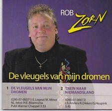 Rob Zorn-De Vleugels Van Mijn Dromen cd single