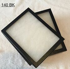 "#140 (24) Riker Mount Display Case Shadow Box Frame Tray  8"" X 6"" X 3/4"""