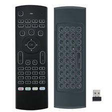 Mini Keyboard Wireless MX3 Backlit Air Mouse Remote Keyboard 2.4G IR Learning