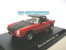 1:43 FIAT 124 ABARTH RALLY - 1972 _ (12) + COPERCHIO BOX RIGIDO