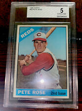 Pete Rose 1966 Topps #30 REDS BVG 5 Excellent