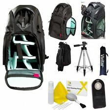 "50"" PRO TRIPOD + LARGE BACKPACK CASE + REMOTE FOR CANON EOS REBEL T3 T5 T6 T5I"