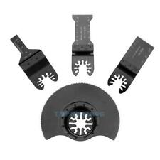 4pcs/set Oscillating MultiTool Saw Blade for Renovator Power Tools Cutting TN2F