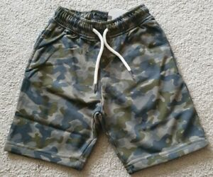 BNWT Boys Kids Next Camou Shorts Age 6 Years