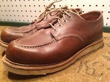 Red Wing Mens Shoes 8109 Oxford Heritage Work Mahogany Brown US Made Size 11 D