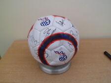 More details for original signatures bolton wanderers f.c. football  + coa