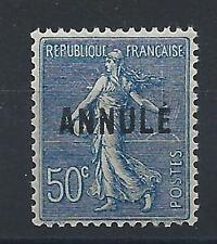 France Cours d'Instruction N° 161-CI 2** (MNH) Annulé