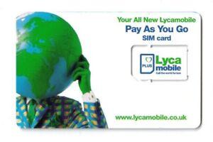 200 pcs Lyca Simcard Lot / Joblot