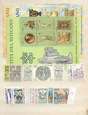 1983 MNH Vaticano year collection