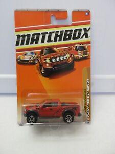 2009 Matchbox Desert Endurance Ford F-150 SVT Raptor Lot 2