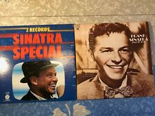 Frank Sinatra - In The Beginning 1972 & Pickwick Lot of 2 Double Record Albums