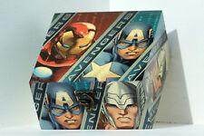 Legno fatto a mano a cerniera media Storage/Ciondolo Box DECOUPAGE Avengers