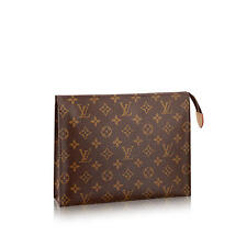 SOLD OUT Authentic Louis Vuitton Toiletry Pouch 26 Monogram Clutch Brand New