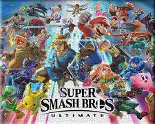 Super Smash Bros Mario puzzles Hard Kids Toys Play Decoration Puzzle Jigsaws 504
