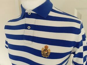 Ralph Lauren CUSTOM FIT SIZE SMALL VERY  RARE  SHORT SLEEVE  POLO 100% GENUINE
