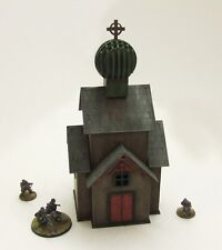 'RUSSIAN CHURCH' - 28mm  - ASSEMBLED MDF & PAINTED TO COLLECTOR'S STANDARD