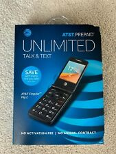 Alcatel Cingular Flip 2 At&T Unlocked Worldwide Flip Phone