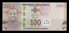 B-D-M Suazilandia Swaziland 100 Emalangeni 2017 (2018) Pick New AA SC UNC