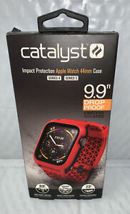 Catalyst Impact Protection Case for Apple Watch® 44mm (Red)