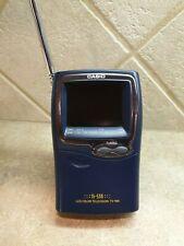 "Vintage CASIO Handheld Color TV TV-980 2.3"" LCD Analog"