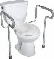 Deluxe Adjustable Toilet Safety Frame Drive Medical RTL12000 - Bathroom Safety
