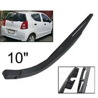 "10"" Rear Windscreen Wiper Arm Blade Set For Suzuki Alto MK7 Nissan Pixo 2009-"