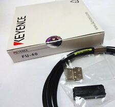 New Keyence FU-40 (FU40) Fiber Optic Sensor #FP