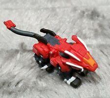 New listing Zoids Anime Gashapon Hasbro Tomy Red Blade Liger Mini Figure Toy