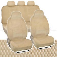 Car Seat Covers Beige Auto Accessories Padded Scottsdale Cloth