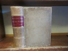 Old A Dictionary Of Medical Science Leather Book Dunglison Medicine Surgery 1900