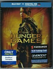 HUNGER GAMES + CATCHING FIRE (Blu-ray+Digital HD) Only@Best Buy (2) STEELBOOKS