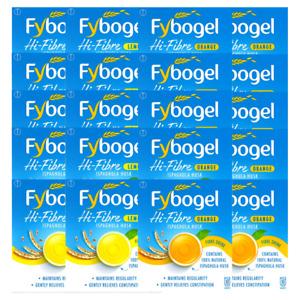 Fybogel Sachets Hi-Fibre Drink, Lemon, Orange 10, 30, 60, Ispaghula Husk