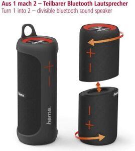 Hama Soundcup-D 2-in-1 Bluetooth Lautsprecher Wasserdicht 20 Watt 6 Stunden Akku