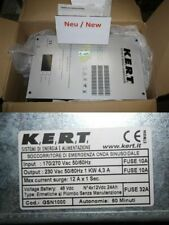 KERT GSN1000   K.E.R.T. SRL - EMERGENCY POWER SUPPLY GSN 1000