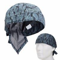 Camouflage Welding Protective Cap Hat Scarf Welder Flame Retardant Cotton Helmet
