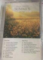 GEORGE WINSTON:Summer -Solo Piano 106884 Cassette Tape NEW BMG  Direct Marketing