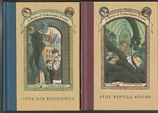 Lemony Snicket X 10: 1 - 5, 7 - 11 (HB's, 1999 - 2004, 1st ed's) #KAB