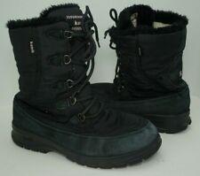 KAMIK Brooklyn Women's SZ 9 Winter Snow Boots Waterproof Black Insulated