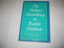 The Fathers According to Rabbi Nathan translated  by Judah Goldin IN ENGLISH