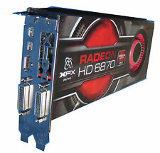 Graphic Card XFX HD6870 AMD Radeon 1GB for PC/Mac Pro 3.1/5.1 #100