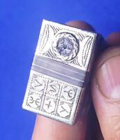 perle verre Bague tifinagh bérbere artisanat maroc - berber ring craft Morocco