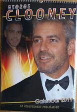 George Clooney Kalender 2011 Spiralbindung 30 x 42 cm 12 Poster zum Rautrennen