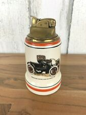 Vintage Evans Mid Century Table Lighter Oldsmobile Curved Dash Runabout 1901