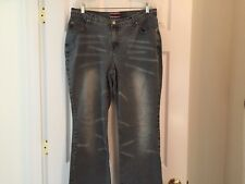 "Z. Cavaricci Jeans Woman's Size 16, Low rise boot cut, 90's Style, 30"" Inseam"