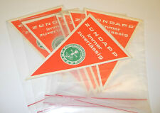 Vintage alte Wimpel von Zündapp Weltmeister