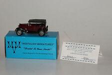MVM NOSTALGIC MINIATURES 1931 FORD MODEL A SEDAN, EXCELLENT, BOXED