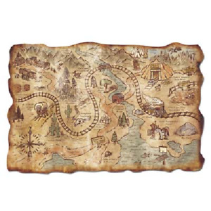 Gold Mine Treasure Map