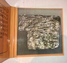 More details for bath vilbia curse tablet replica lead handmade to order magic roman latin
