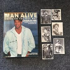 Man Alive Charles Hix 1984 Signed by Stephen Au Coin ISBN 067150085 Gay Interest